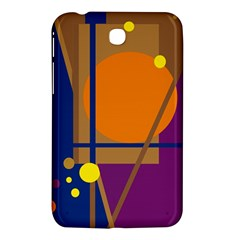 Decorative Abstract Design Samsung Galaxy Tab 3 (7 ) P3200 Hardshell Case  by Valentinaart