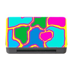 Colorful Abstract Design Memory Card Reader With Cf by Valentinaart