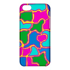 Colorful Abstract Design Apple Iphone 5c Hardshell Case by Valentinaart