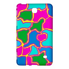 Colorful Abstract Design Samsung Galaxy Tab 4 (8 ) Hardshell Case  by Valentinaart