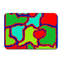 Colorful Abstract Design Plate Mats by Valentinaart