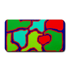 Colorful Abstract Design Medium Bar Mats by Valentinaart