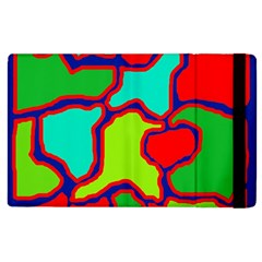 Colorful Abstract Design Apple Ipad 3/4 Flip Case by Valentinaart
