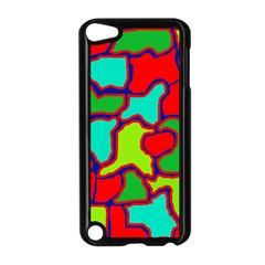 Colorful Abstract Design Apple Ipod Touch 5 Case (black)