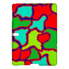 Colorful Abstract Design Samsung Galaxy Tab S (10 5 ) Hardshell Case  by Valentinaart