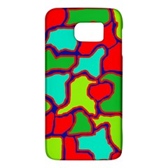 Colorful Abstract Design Galaxy S6 by Valentinaart