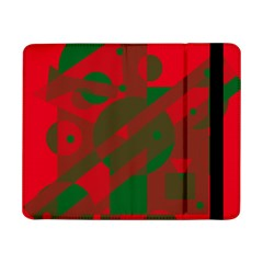 Red And Green Abstract Design Samsung Galaxy Tab Pro 8 4  Flip Case by Valentinaart