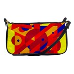 Colorful abstraction Shoulder Clutch Bags Front