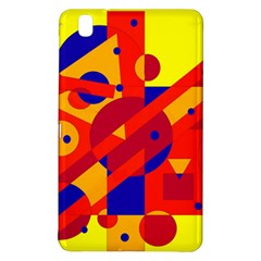 Colorful Abstraction Samsung Galaxy Tab Pro 8 4 Hardshell Case by Valentinaart