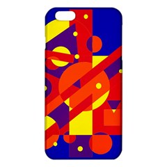 Blue And Orange Abstract Design Iphone 6 Plus/6s Plus Tpu Case by Valentinaart