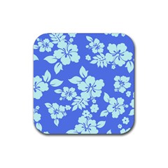 Hawaiian Sky Rubber Square Coaster (4 Pack)  by AlohaStore