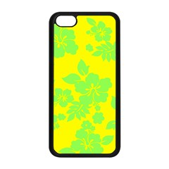 Bright Hawaiian Apple Iphone 5c Seamless Case (black) by AlohaStore