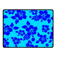 Hawaiian Ocean Fleece Blanket (small) by AlohaStore