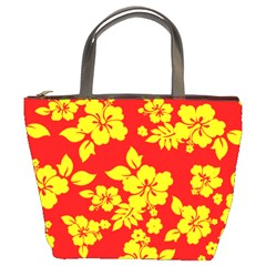 Hawaiian Sunshine Bucket Bags by AlohaStore