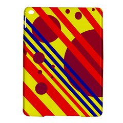 Hot Circles And Lines Ipad Air 2 Hardshell Cases by Valentinaart