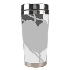 Gray Hart Stainless Steel Travel Tumblers