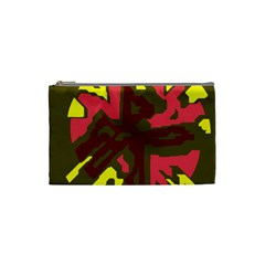 Abstract Design Cosmetic Bag (small)  by Valentinaart