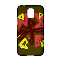 Abstract Design Samsung Galaxy S5 Hardshell Case