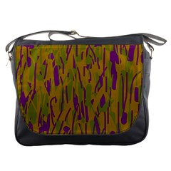 Decorative Pattern  Messenger Bags by Valentinaart