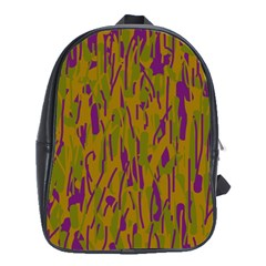 Decorative Pattern  School Bags (xl)  by Valentinaart