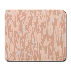 Pink Pattern Large Mousepads by Valentinaart