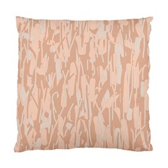 Pink Pattern Standard Cushion Case (one Side) by Valentinaart