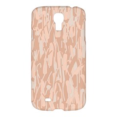 Pink Pattern Samsung Galaxy S4 I9500/i9505 Hardshell Case by Valentinaart