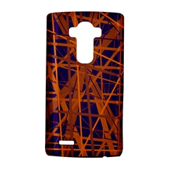 Blue And Orange Pattern Lg G4 Hardshell Case by Valentinaart