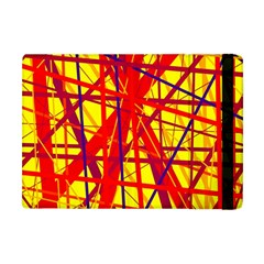 Yellow And Orange Pattern Apple Ipad Mini Flip Case