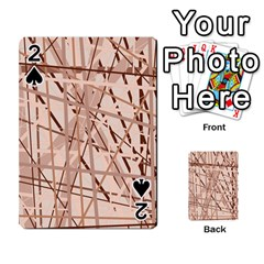 Brown Pattern Playing Cards 54 Designs