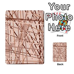 Brown Pattern Multi Purpose Cards (rectangle)