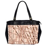 Brown pattern Office Handbags (2 Sides)  Front
