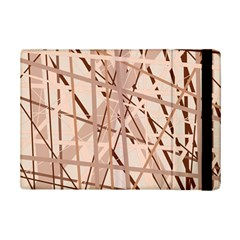 Brown Pattern Ipad Mini 2 Flip Cases by Valentinaart