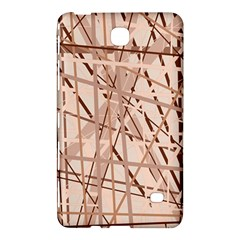 Brown Pattern Samsung Galaxy Tab 4 (7 ) Hardshell Case  by Valentinaart