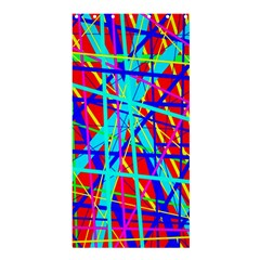 Colorful Pattern Shower Curtain 36  X 72  (stall)  by Valentinaart