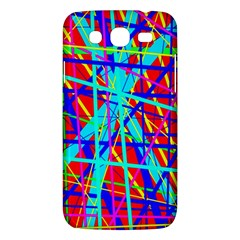 Colorful Pattern Samsung Galaxy Mega 5 8 I9152 Hardshell Case  by Valentinaart