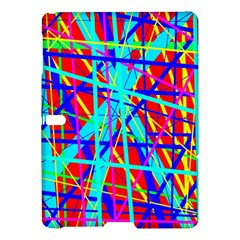 Colorful Pattern Samsung Galaxy Tab S (10 5 ) Hardshell Case  by Valentinaart