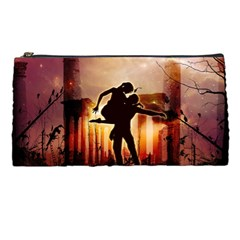 Dancing In The Night With Moon Nd Stars Pencil Cases by FantasyWorld7