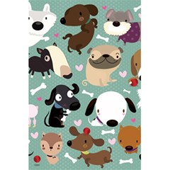 Dog Pattern 5 5  X 8 5  Notebooks by Mjdaluz