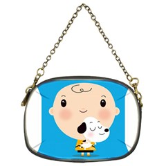 Snoopy Chain Purses (two Sides)