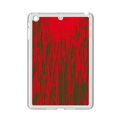 Red And Green Pattern Ipad Mini 2 Enamel Coated Cases by Valentinaart