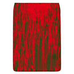 Red And Green Pattern Flap Covers (s)  by Valentinaart