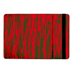 Red And Green Pattern Samsung Galaxy Tab Pro 10 1  Flip Case by Valentinaart