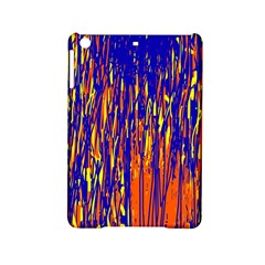 Orange, Blue And Yellow Pattern Ipad Mini 2 Hardshell Cases by Valentinaart