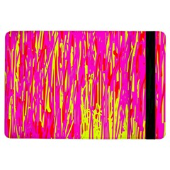 Pink And Yellow Pattern Ipad Air Flip by Valentinaart