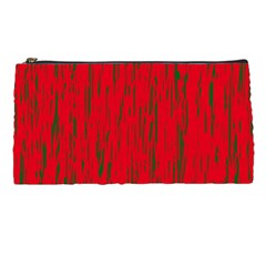 Decorative Red Pattern Pencil Cases by Valentinaart