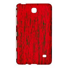 Decorative Red Pattern Samsung Galaxy Tab 4 (7 ) Hardshell Case  by Valentinaart