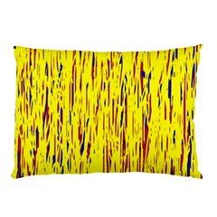 Yellow Pattern Pillow Case (two Sides)