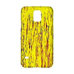 Yellow Pattern Samsung Galaxy S5 Hardshell Case  by Valentinaart
