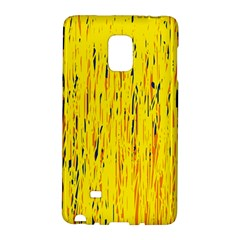 Yellow Pattern Galaxy Note Edge by Valentinaart